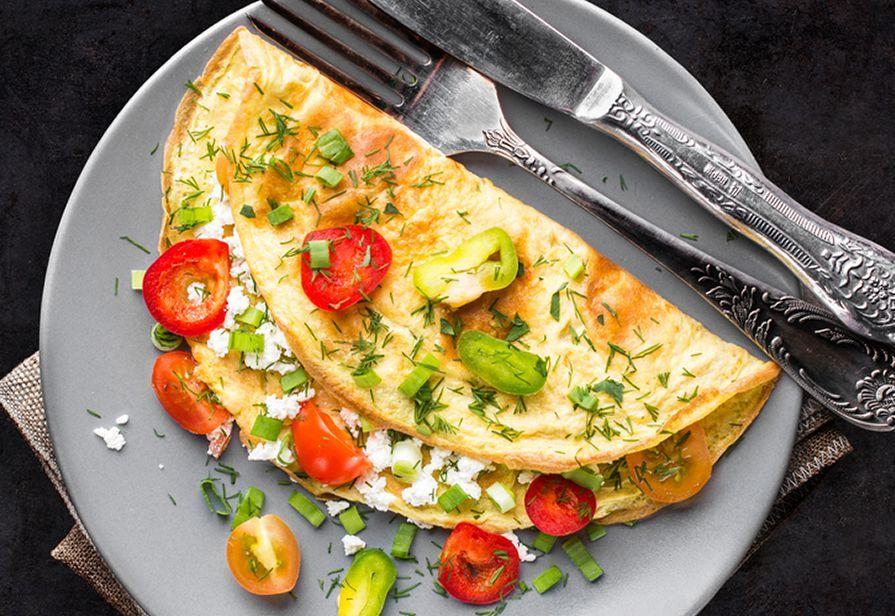 Omelette estiva