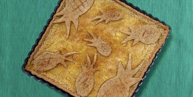 Crostata integrale all'ananas