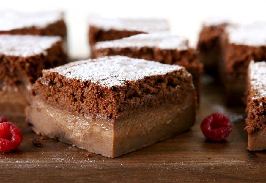 Magic cake al cacao