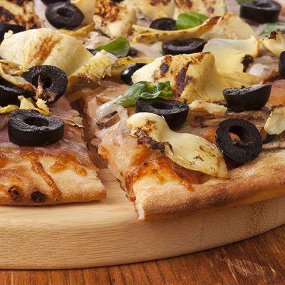 Pizza ai carciofi