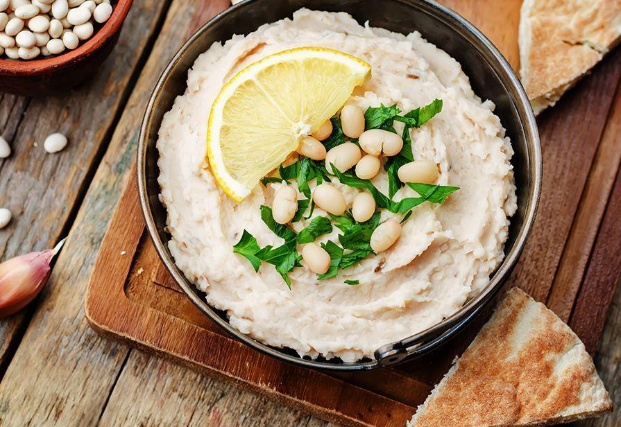 Hummus di fagioli bianchi