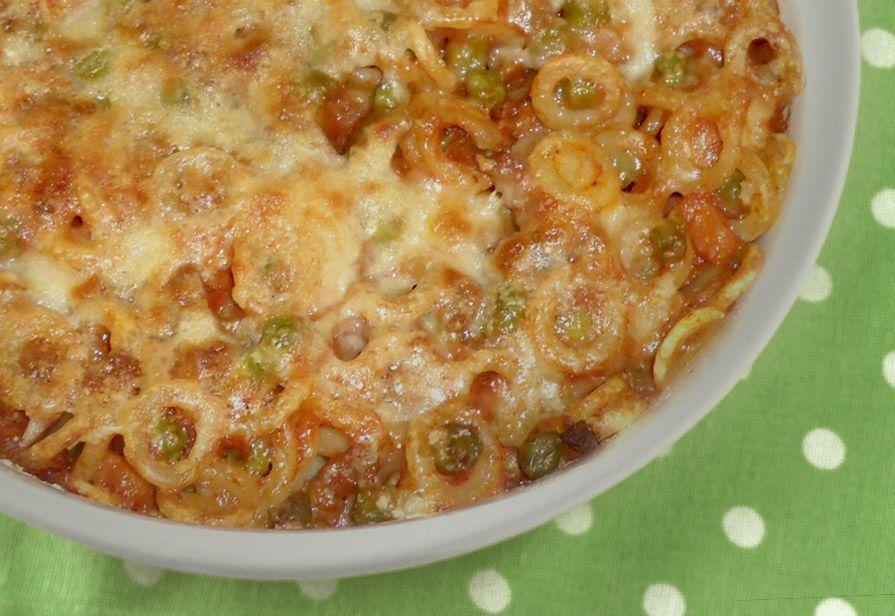 Pasta al forno (anelletti)