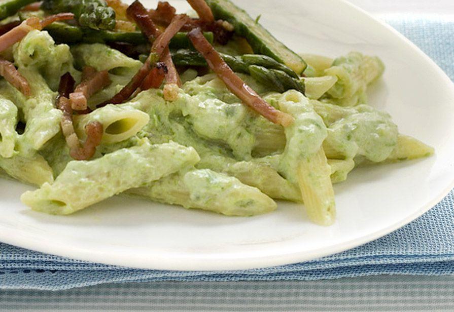 Pasta alla crema di asparagi