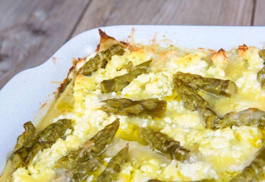 Lasagne zafferano e asparagi