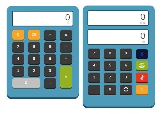 Calcolatrice e convertitore