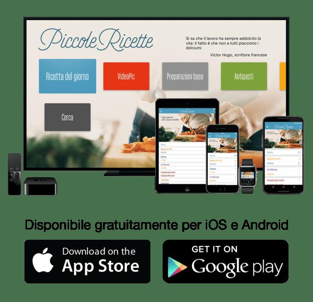 Piccole Ricette app