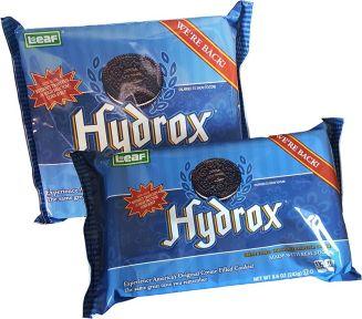 La confezione dei biscotti Hydrox