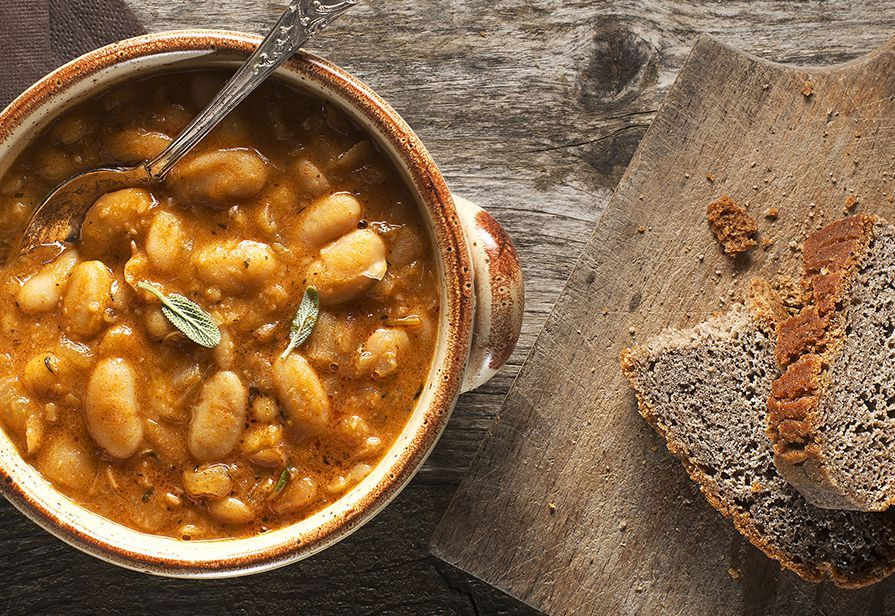 Zuppa di fagioli alla provenzale