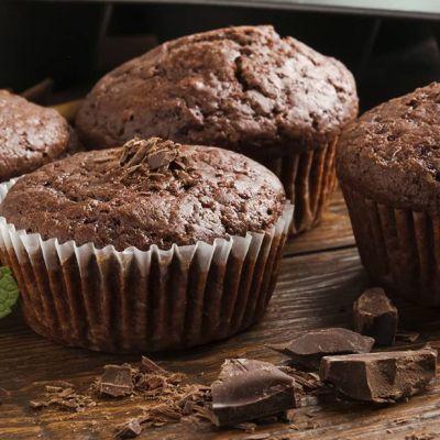 Muffin cioccolato e menta