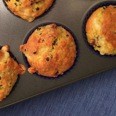 Muffin salati al cotechino e lenticchie