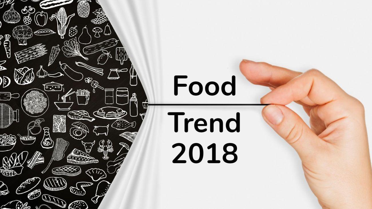 Trend culinari per il 2018
