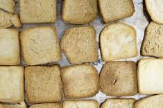 Pane a fette recuperato