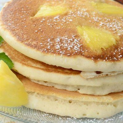 Pancakes all'ananas
