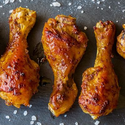 Pollo alla salsa bbq