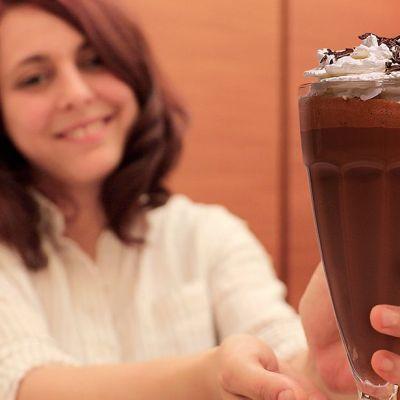 Frappè gelato al cioccolato