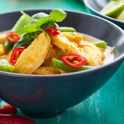Curry rosso Thai al pollo