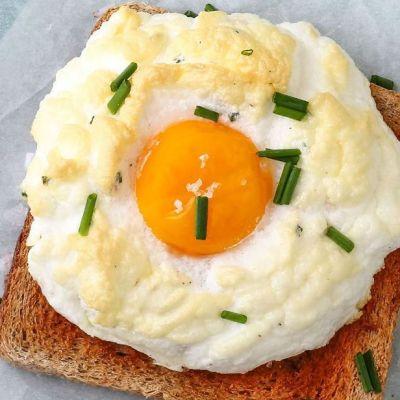 Nuvole di uova al forno