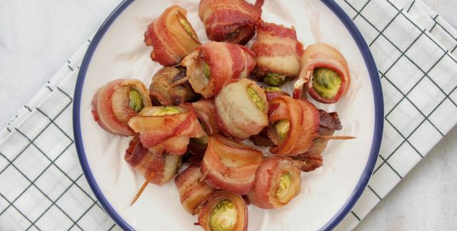 Cavoletti di Bruxelles al bacon