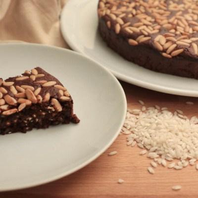 Torta di riso al cioccolato