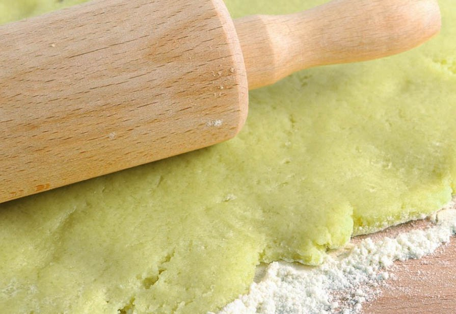 Pasta frolla all'avocado