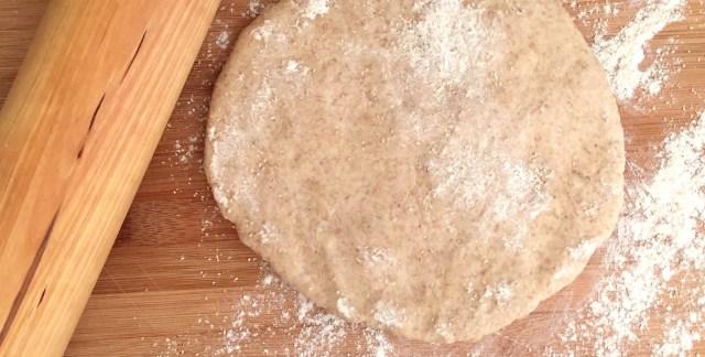 Pasta frolla integrale al miele