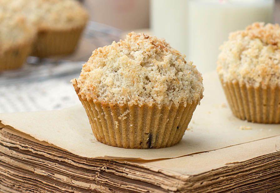 Muffin integrali al cocco