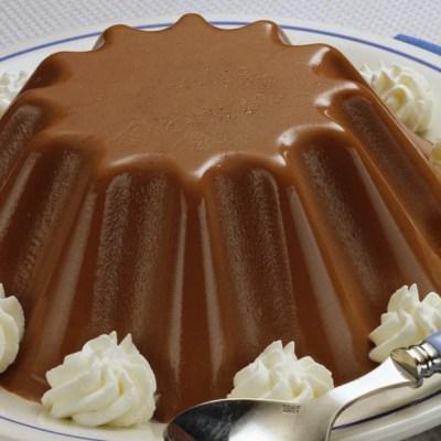 Budino al cioccolato