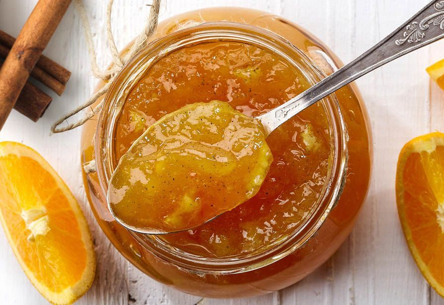 Marmellata di arance e cannella
