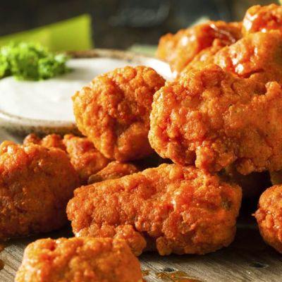 Bocconcini di pollo indiavolati