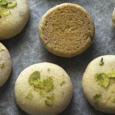 Biscottini ai pistacchi