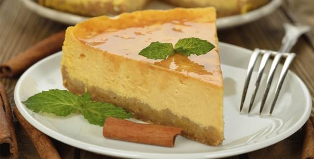 Cheesecake curcuma e cannella
