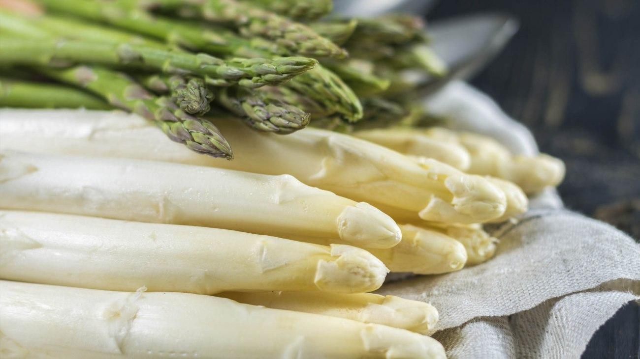Ingrediente di maggio asparago