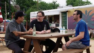 The chef show Food truck