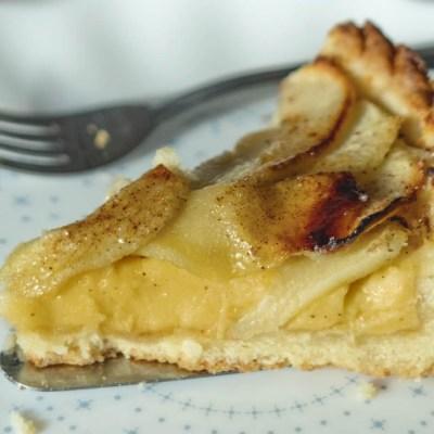 Crostata di mele alla crema
