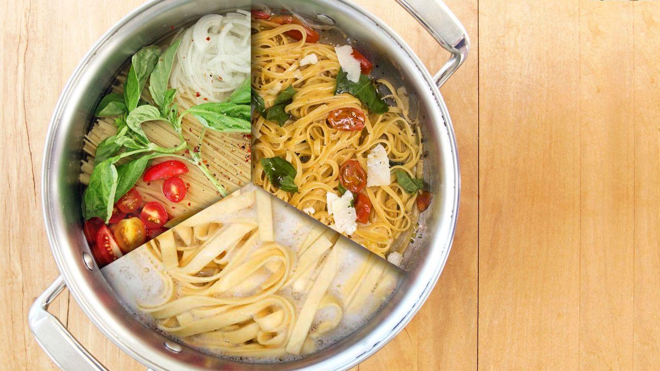 Tutti i modi di cuocere la pasta