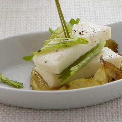 Antipasto di patate e taleggio