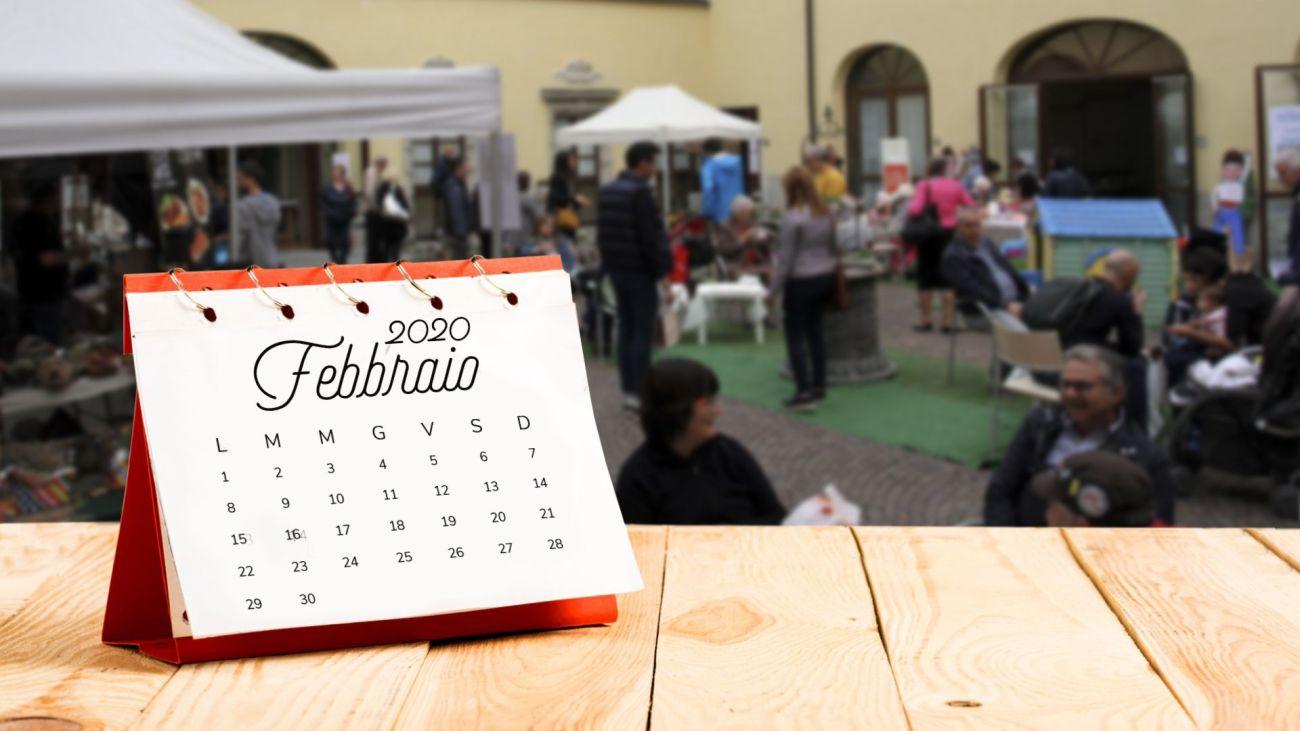 Calendario goloso di Febbraio 2020