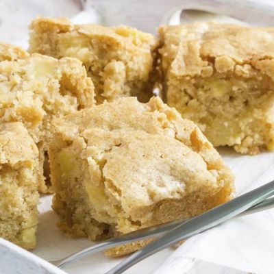 Blondies al limone