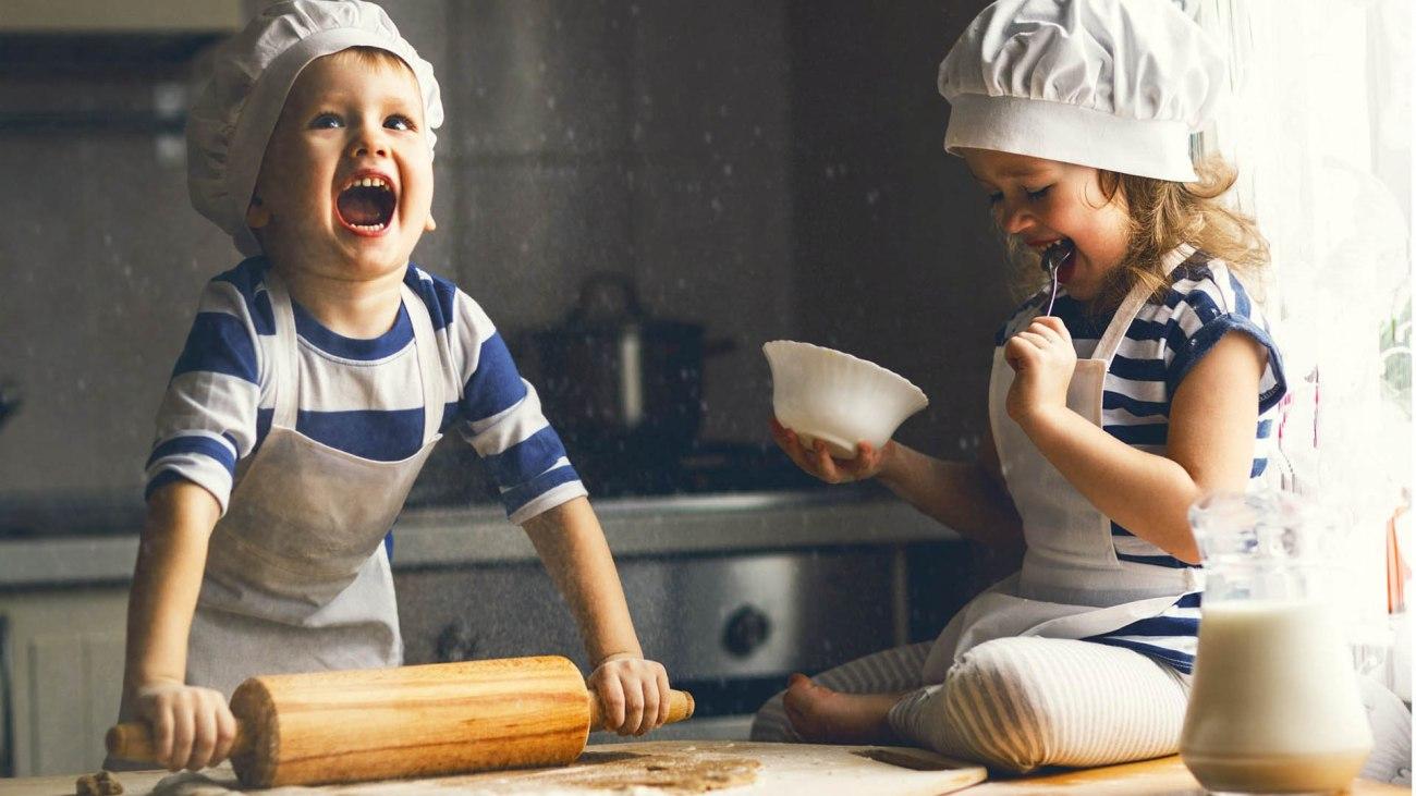 10 ricette da preparare con i tuoi bambini