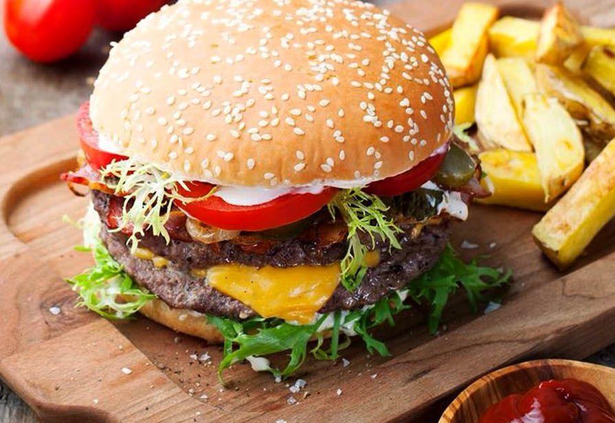 Hamburger alla salsiccia