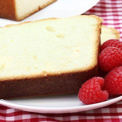 Pound cake alla vaniglia