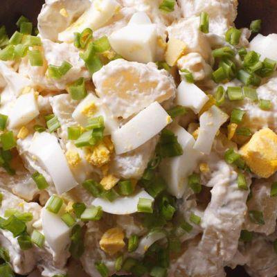 Insalata di uova e patate