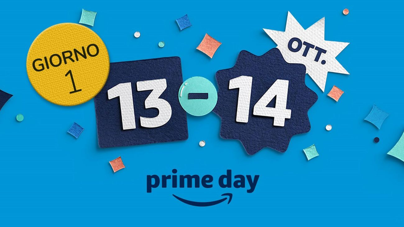 Amazon Prime Day 2020 con Piccole Ricette Giorno 1