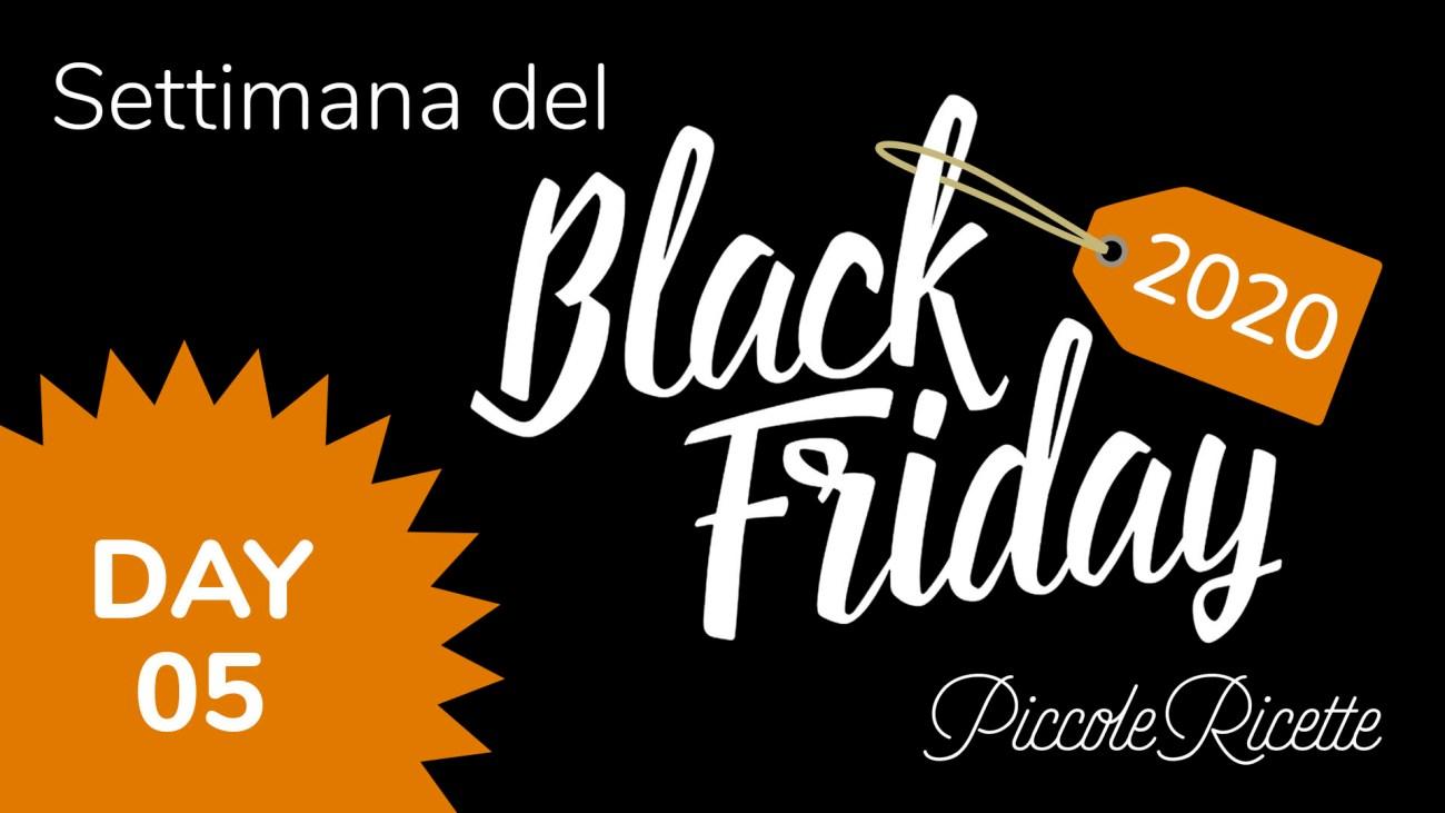 Amazon Black Friday 2020 giorno 05