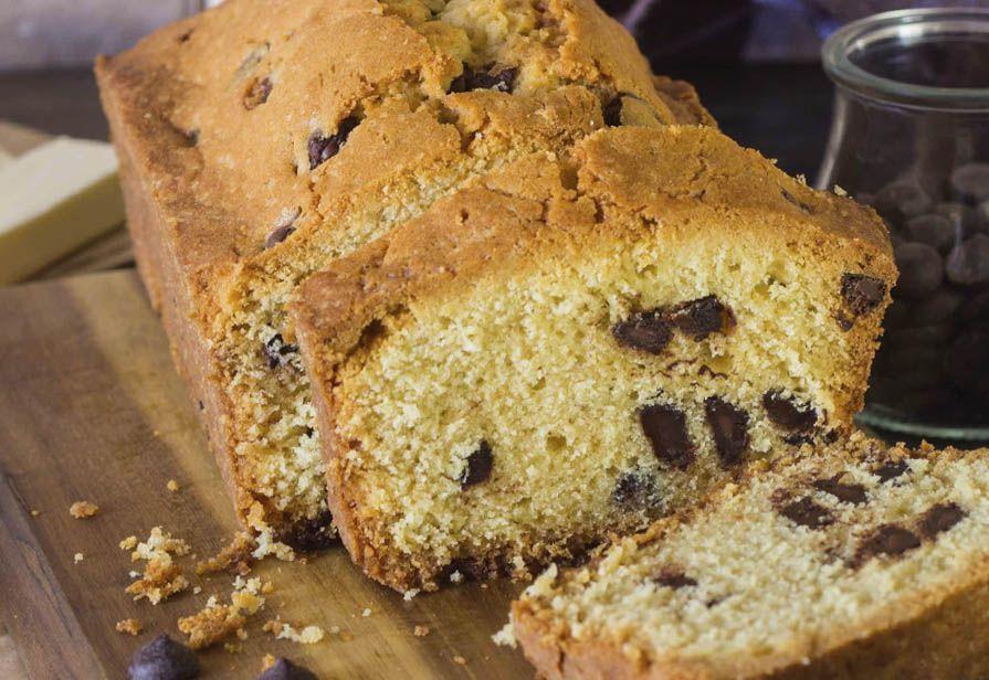 Plumcake senza glutine alle gocce di cioccolato