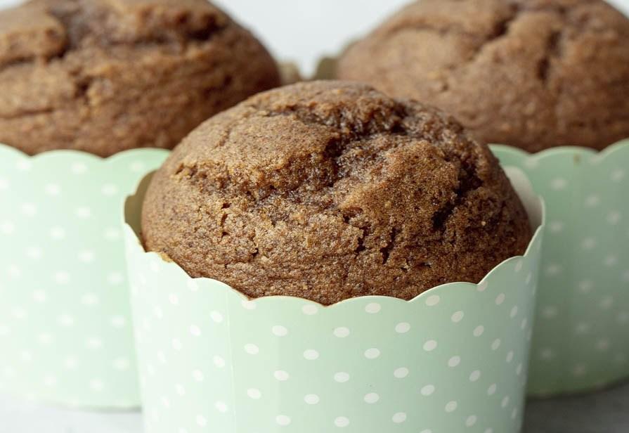 Muffin integrali allo sciroppo d'acero