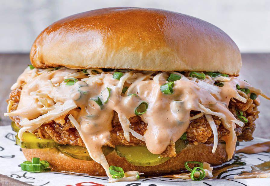 Hamburger al salmone spicy