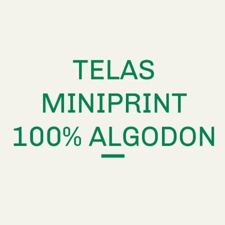 Telas Miniprint