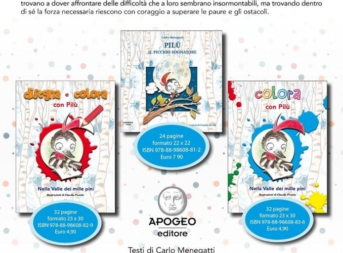 È uscito Pilú con Apogeo editore Adria.
