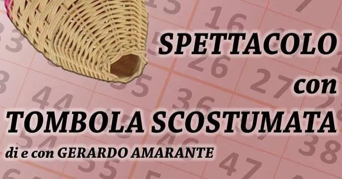 Copertina TOMBOLA SCOSTUMATA - Piccolo Teatro del Giullare